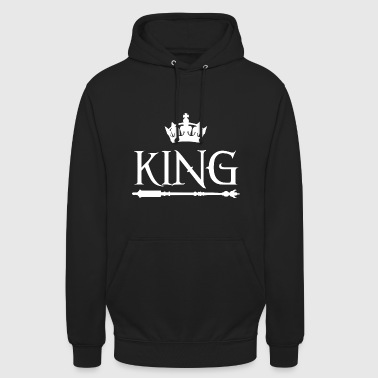 King King Shirt partenaire - Sweat-shirt à capuche unisexe