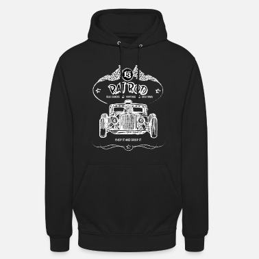Hot Rod Rat Rod - Hot Rod - Unisex Hoodie