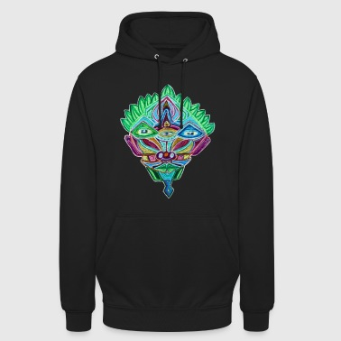 Colorful Psyhead - Unisex Hoodie