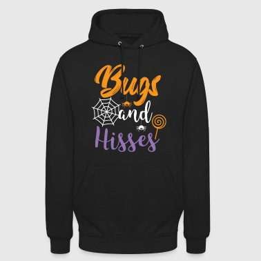 Halloween Shirt Bugs And Hisses Gift Tee - Unisex Hoodie