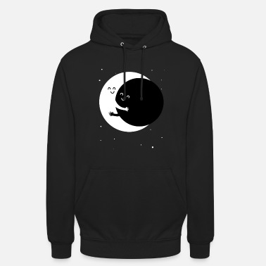 Friend The moon and his best friend - Unisex Hoodie