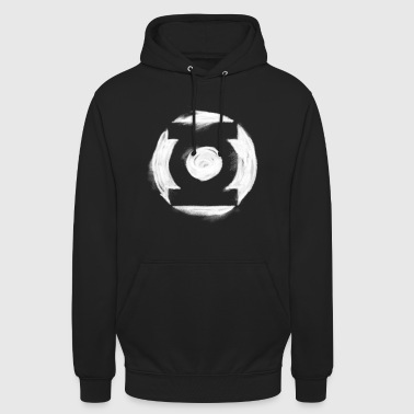 Superhelden Green Lantern white milk Logo - Unisex Hoodie