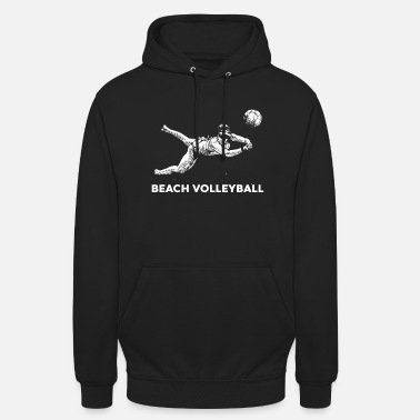 Beach Volley Beach-volley - Sweat-shirt à capuche unisexe