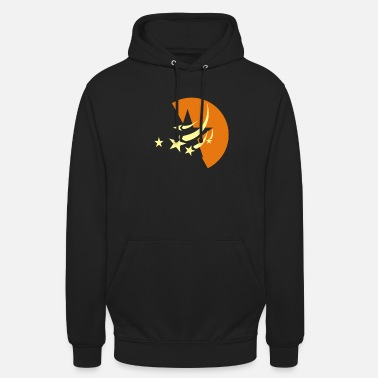 Space Star moon starry sky space - Unisex Hoodie
