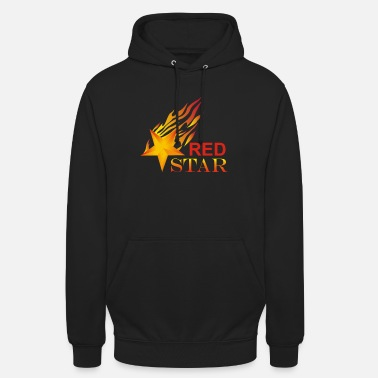 Shooting Sten falling star sky fire gift idea shirt - Unisex Hoodie
