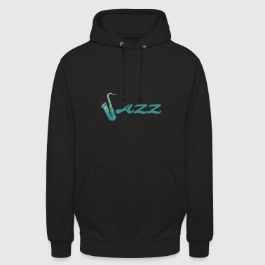 jazz - Sweat-shirt à capuche unisexe