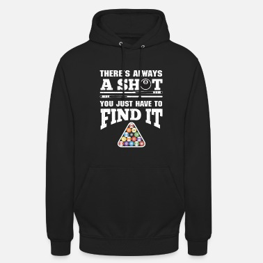 Snooker Billiards, Snooker and 8Ball Pool Players - Unisex Hoodie