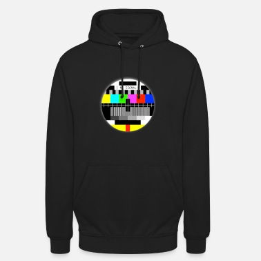 Tv NO signal ancienne TV T-shirts no signal old TV - Sweat-shirt à capuche unisexe