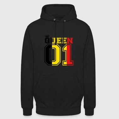 partner country king 01 prince Belgium - Unisex Hoodie