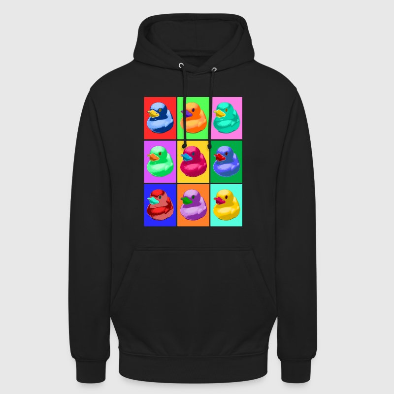 Pop Art Ente, Pop Art Duck - Unisex Hoodie