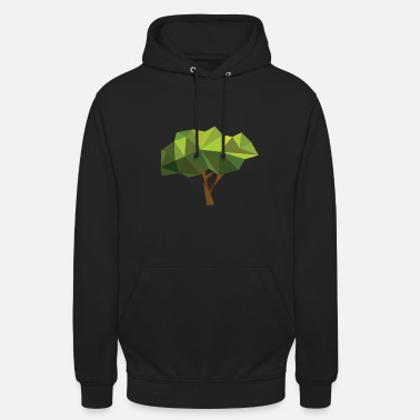 Natürlich Tree nature forest gift idea green plant motive - Unisex Hoodie