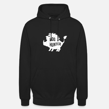 Sow Hog hunter boar gift idea proud hunting - Unisex Hoodie