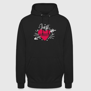 Just Married - Just Married Wedding - Hoodie unisex