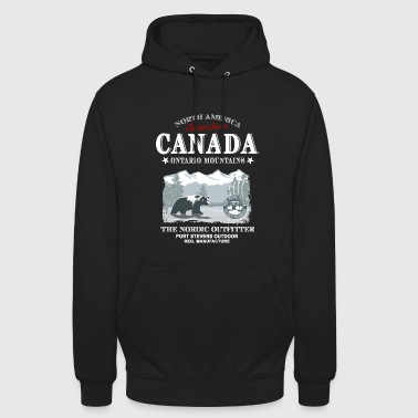 Canada - Grizzly Bear - Unisex Hoodie