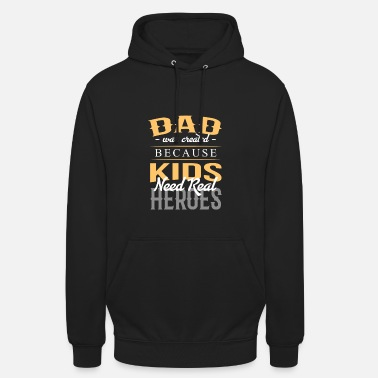 August Father dad gift daughter son child - Unisex Hoodie