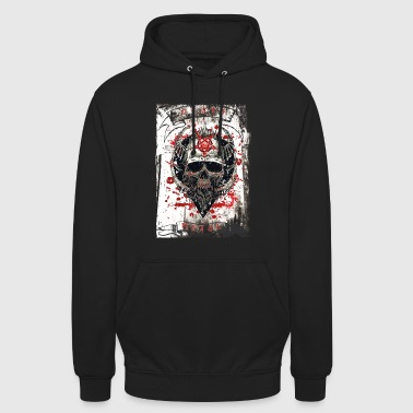 Heavy Death Metal Heavy Rock Music - Unisex Hoodie