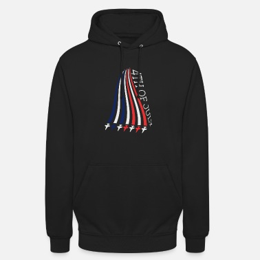 Stars And Stripes Jets with Stars and Stripes - Unisex hættetrøje
