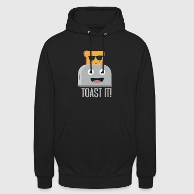 Toaster with bread - Unisex Hoodie