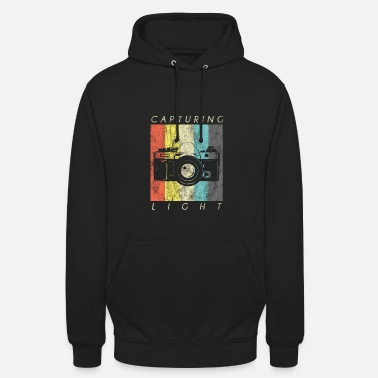 Polaroid Capture Light Gift Fotograaf Camera shirt - Hoodie unisex