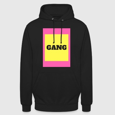 Gang GANG - Sweat-shirt à capuche unisexe