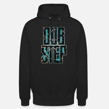 Dubstep lettrage Dubstep 3D 007 - Sweat-shirt à capuche unisexe