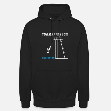 Diving Board Diving Skipper Diving T-Shirt Gift - Unisex Hoodie