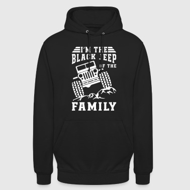 Black Jeep Of The Family - Unisex Hoodie