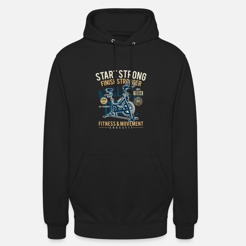 Funny Gym Hoodies & Sweatshirts - Gym - Unisex Hoodie black