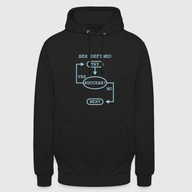 Cool Quote sex defined - Unisex Hoodie