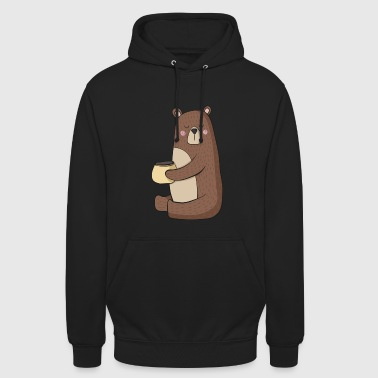 Grizzly Oso Grizzly - Sudadera con capucha unisex