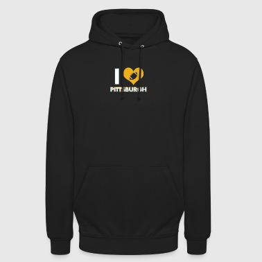 J'adore Pittsburgh - Sweat-shirt à capuche unisexe