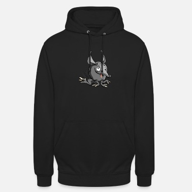 Armored Monster Cartoon - cadeau-idee - Hoodie unisex