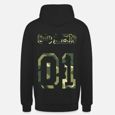 Camouflage Queen Camouflage - Unisex Hoodie
