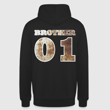 Brother 01 - metall - Unisex Hoodie