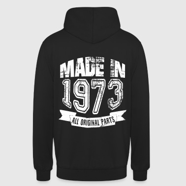 Made in 1973 - Sudadera con capucha unisex