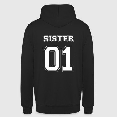Sister SISTER 01 - WHITE EDITION - Sweat-shirt à capuche unisexe