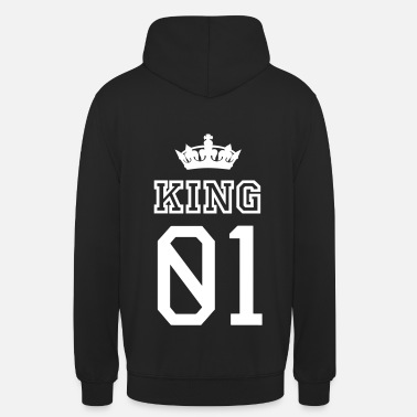 King Queen KING - Sweat-shirt à capuche unisexe