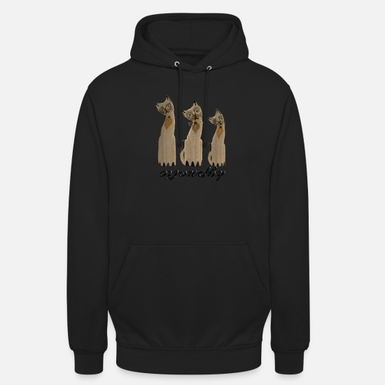 Hypnotic Hoodies & Sweatshirts - CAT-hypnotic (M) - Unisex Hoodie black