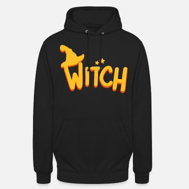 Witch Witch Halloween Witch Pumpkin - Unisex Hoodie