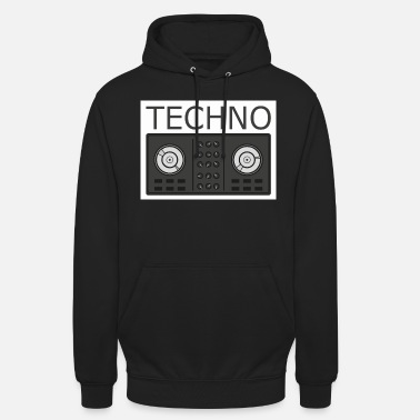 Turntable Techno Turntable - Hoodie unisex
