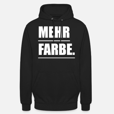 Farbe Farbe - Unisex Hoodie