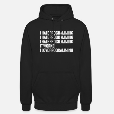 Program IT programming - Unisex Hoodie