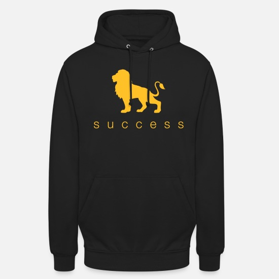 Wealth Hoodies & Sweatshirts - Success Success Lion Shirt - Unisex Hoodie black