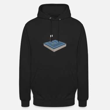 Court Basketball court - Unisex Hoodie