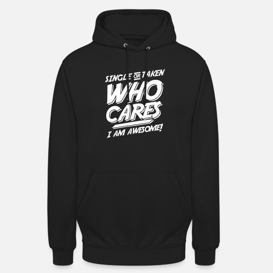 Single Hoodies & Sweatshirts - Single or forgiving - Unisex Hoodie black