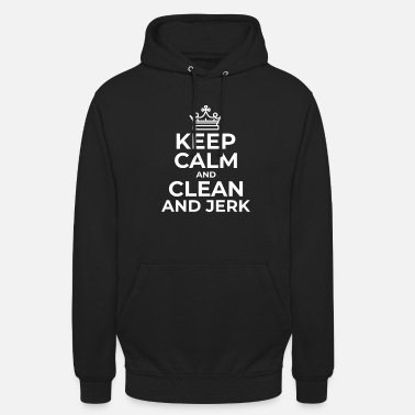 Jerk Clean and Jerk - Unisex Hoodie
