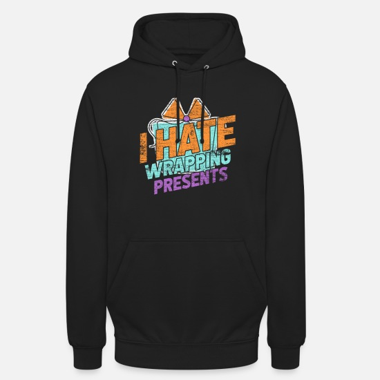 Birthday Hoodies & Sweatshirts - Wrapping presents - Unisex Hoodie black