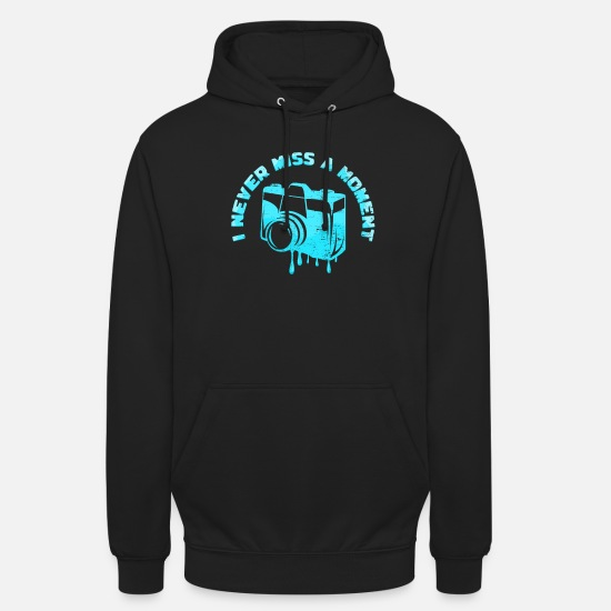 Digital Camera Hoodies & Sweatshirts - taking photos - Unisex Hoodie black