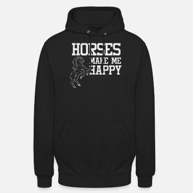Stall Love horses stall riding - Unisex Hoodie