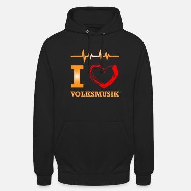 Música Folk Camiseta de música folk - Sudadera con capucha unisex 3e58f75b45a